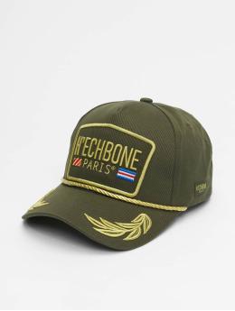 Hechbone trucker cap Trucker olijfgroen