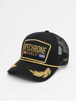 Hechbone trucker cap Trucker zwart