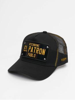 Hechbone trucker cap  zwart