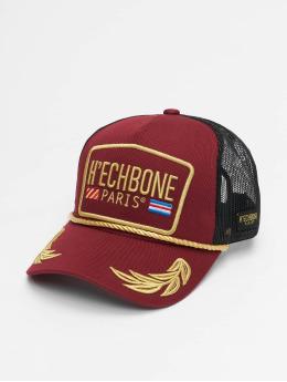 Hechbone Trucker Caps Trucker czerwony