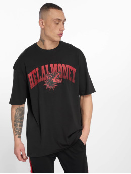 Helal Money Camiseta Across The Chest negro