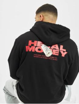Helal Money Felpa con cappuccio Money First nero