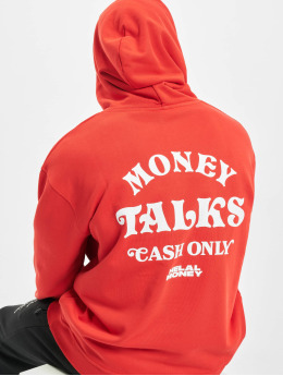 Helal Money Felpa con cappuccio Money Talks rosso