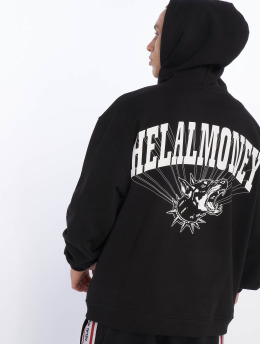 Helal Money Hoodie No Biting Allowed black