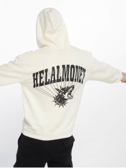 Helal Money Hoodie No Biting Allowed white