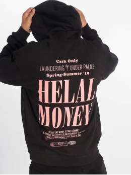 Helal Money Hoodies  Under Palms Hoody Black...