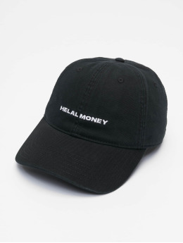 Helal Money snapback cap Dad Fit zwart