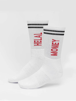 Helal Money Socks Ringel  white
