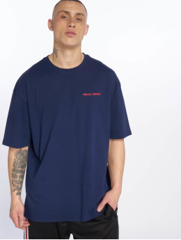 Helal Money t-shirt Check The Details blauw