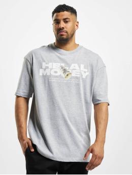 Helal Money T-shirt Money First grigio