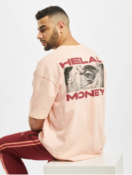 Helal Money T-Shirt Franklin rosa