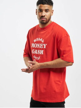 Helal Money T-shirt Cash Only rosso