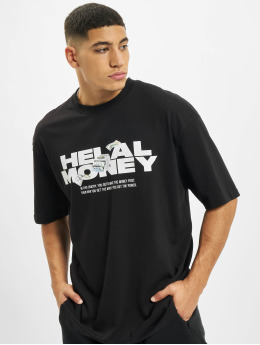 Helal Money t-shirt Money First 2.0 zwart