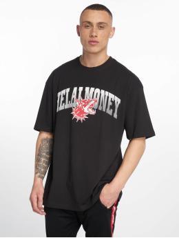 Helal Money T-Shirty Across The Chest czarny