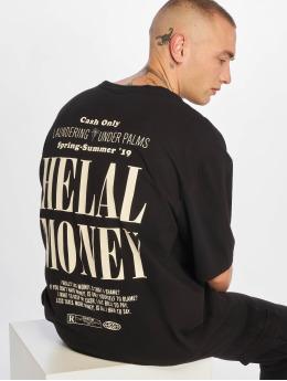 Helal Money T-Shirty Cash Only czarny