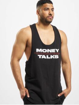 Helal Money Tank Tops Money Talks èierna