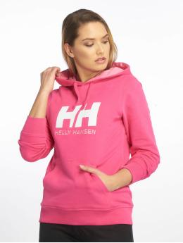 Helly Hansen Bluzy z kapturem HH Logo pink