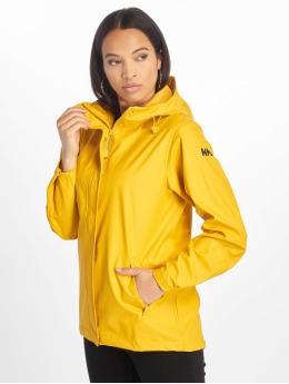Helly Hansen Lightweight Jacket Moss  yellow