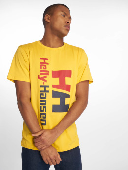 Helly Hansen t-shirt HH Retro geel