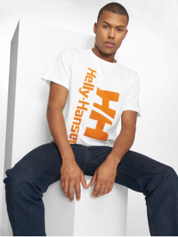 Helly Hansen T-Shirty HH Retro bialy