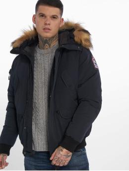 Helvetica Зимняя куртка Anchorage Raccoon Edition синий