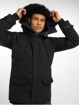 Helvetica Chaqueta de invierno Expedition Dark Edition negro