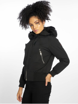 Helvetica Winter Jacket Jura Dark Edition black