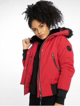 Helvetica Winter Jacket Jura Dark Edition red