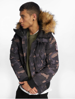 Helvetica Winterjacke Anchorage Raccoon Edition camouflage