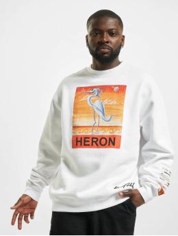 Heron Preston Pulóvre Times biela