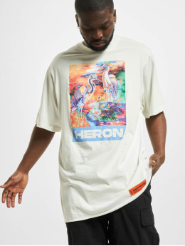 Heron Preston T-shirt Colours Over vit