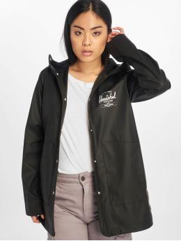 Herschel Lightweight Jacket Women's Rainwear Classic Rain black