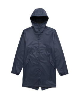 Herschel Lightweight Jacket Rainwear Fishtail blue