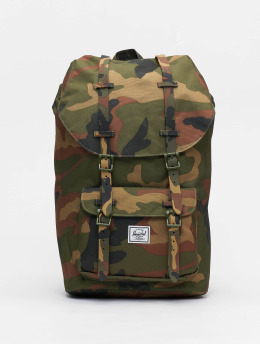 Herschel Sac à Dos Little America camouflage