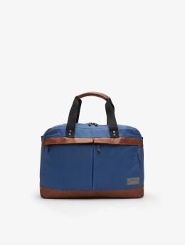 Hex Bag Overnight blue