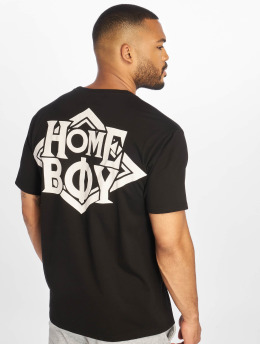 Homeboy t-shirt The Bigger Homie zwart
