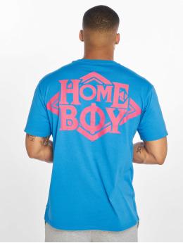 Homeboy T-skjorter The Bigger Homie Nappo Logo blå