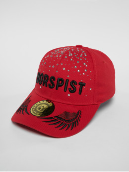 Horspist snapback cap Wayne rood