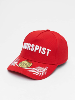 Horspist snapback cap Strapback rood
