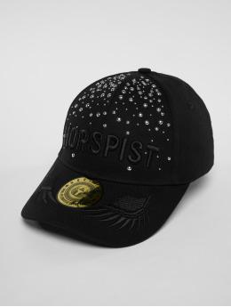 Horspist snapback cap Wayne zwart