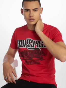Horspist T-shirt Boston  röd