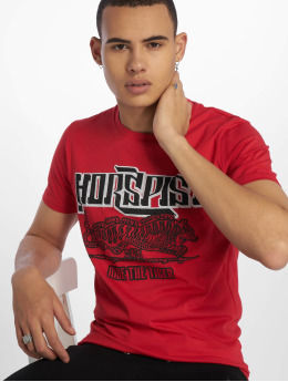 Horspist T-Shirt Boston rot