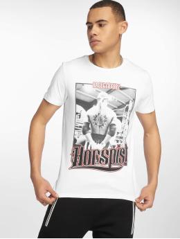 Horspist T-shirts Jordan hvid