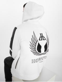 Horspist Zip Hoodie Leeds white