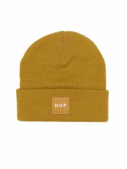 HUF Beanie Box Logo gelb