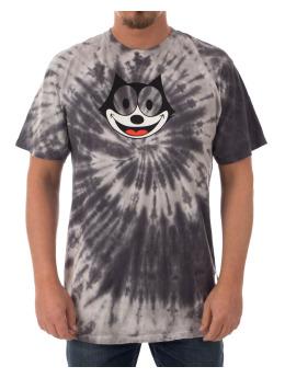 HUF Camiseta Felix Hypnotize Spiral gris