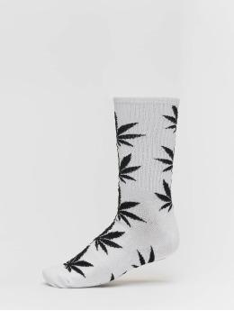 HUF Chaussettes Plantlife Stripe Sock  blanc