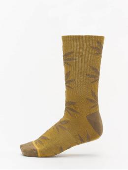 HUF Socken Plantlife Kush braun
