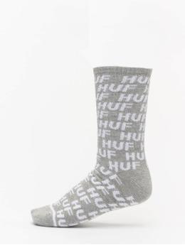 HUF Socken Transit grau