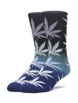 HUF Socken Gradient Plantlife schwarz